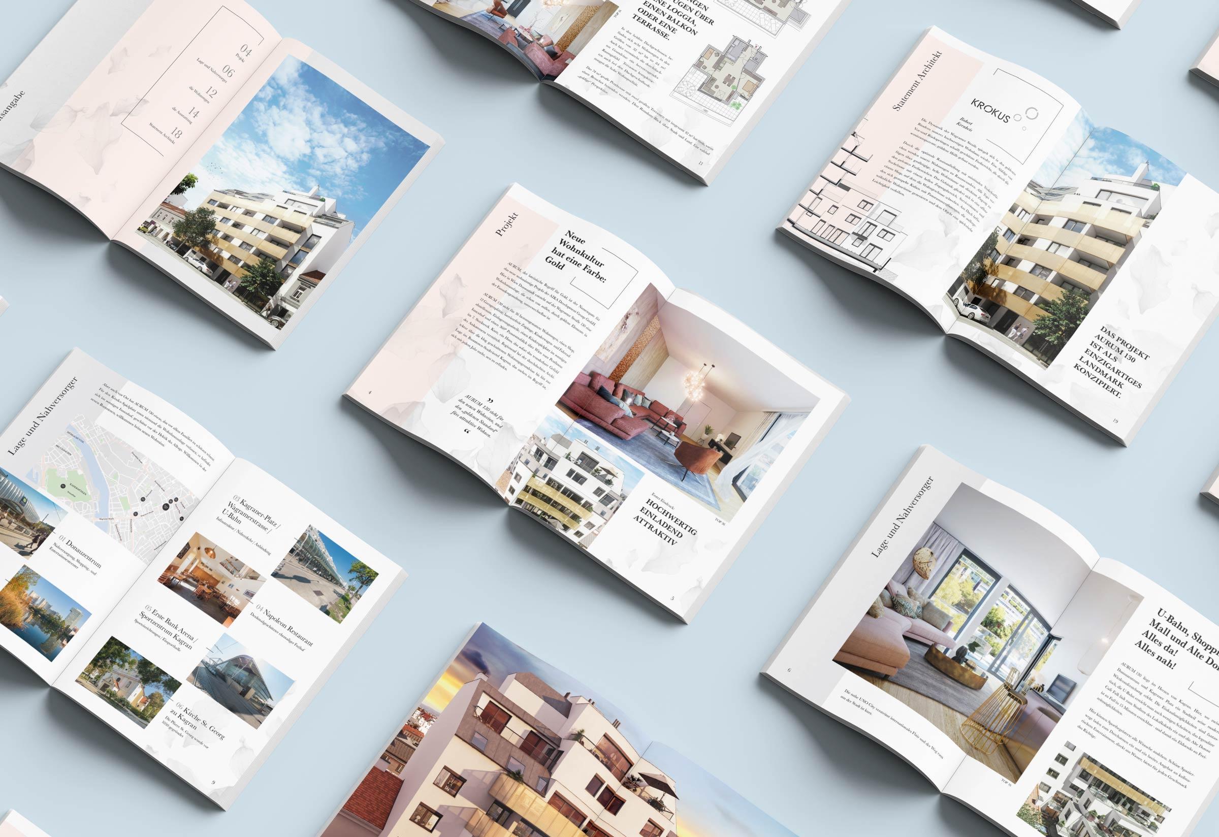 Brožura k projektu Aurum 130