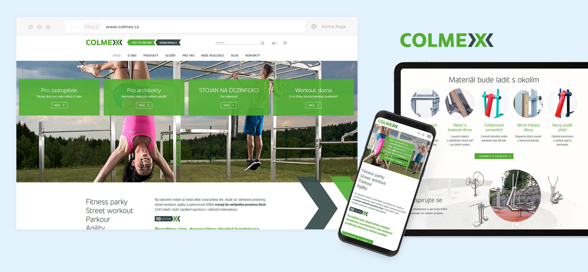 Colmex web