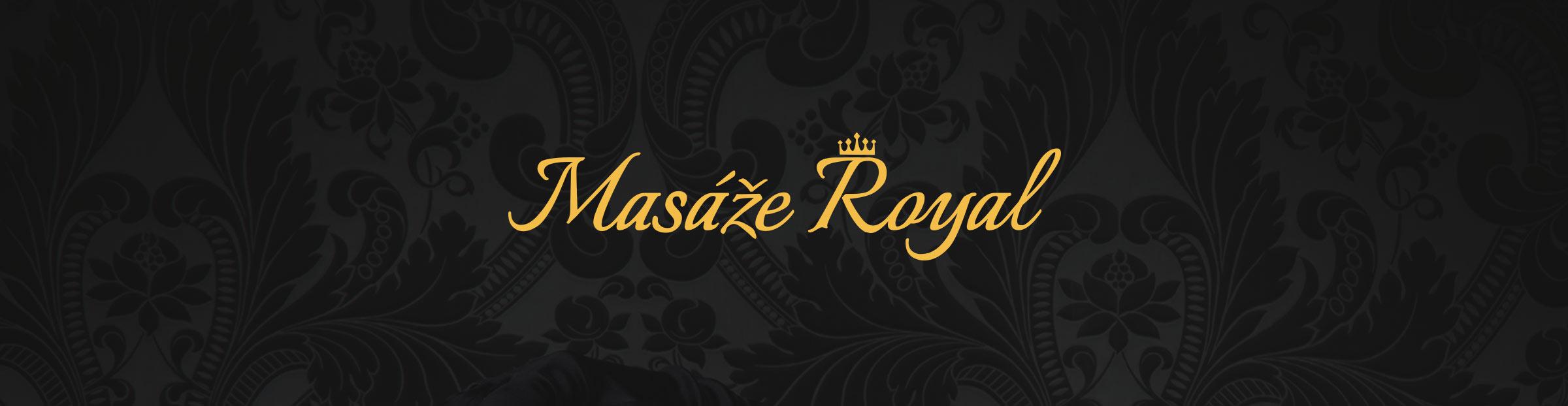 Logo pro Masáže Royal