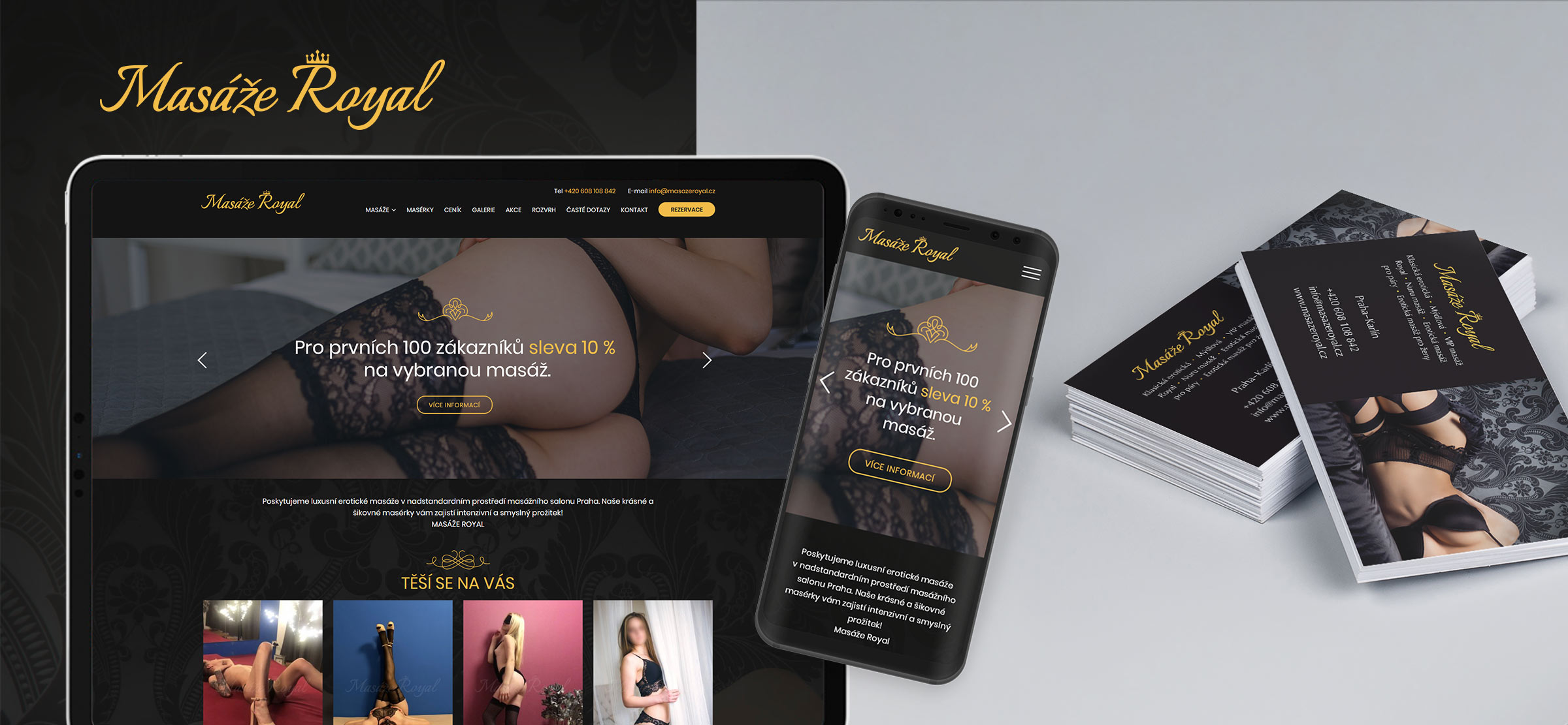 Masáže Royal - logo - web - tisk