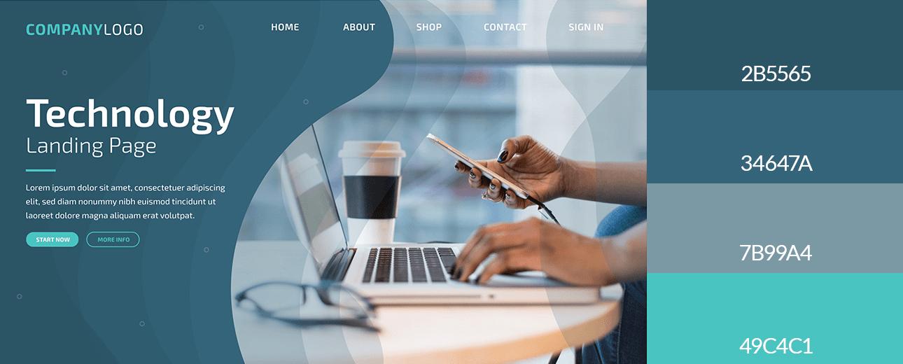 Barvy ve webdesignu