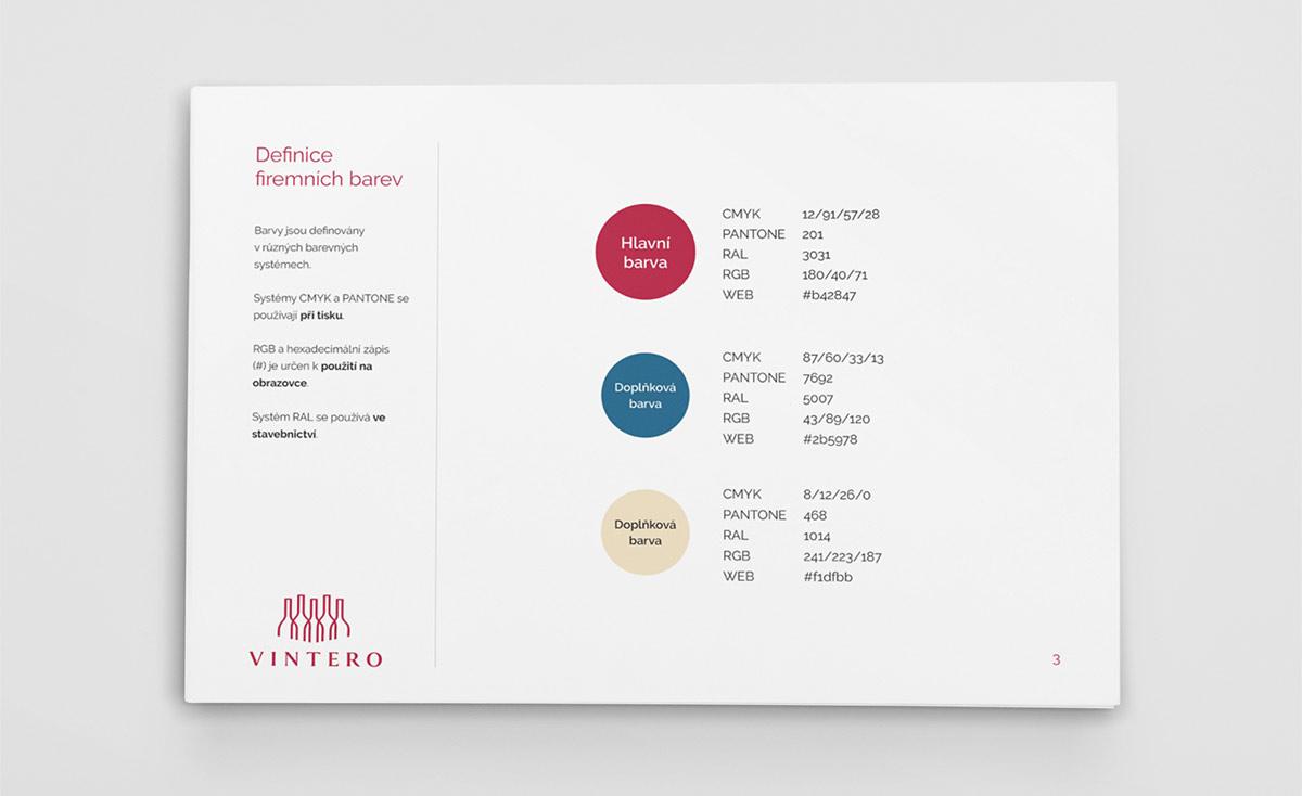 Logomanuál - definice firemních barev