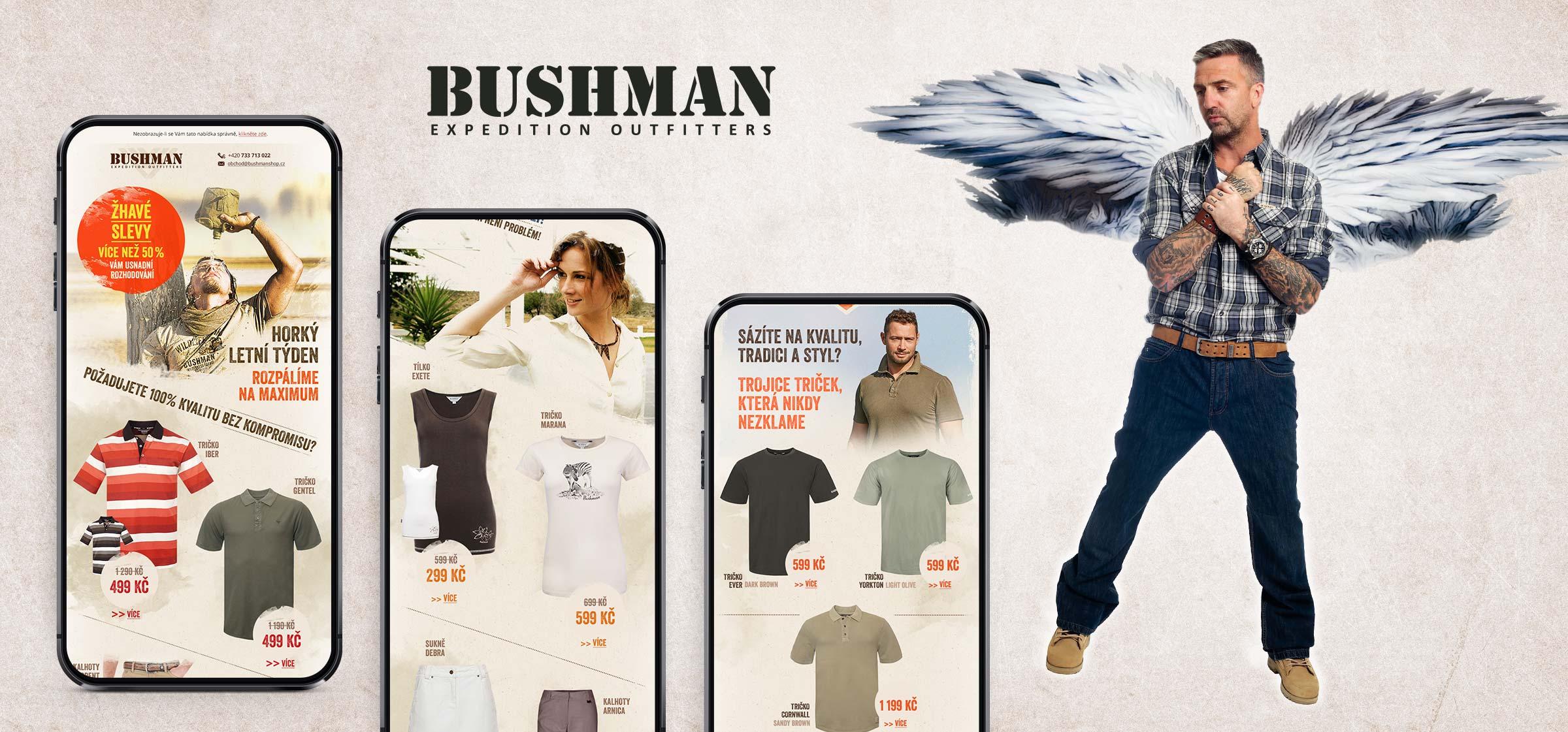 Grafika a marketing pro web Bushman